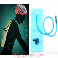 2L Hydration Bladder Bag Hiking Camping Backpack Water Drinking Pouch Sports MG