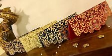 Set Of 5* Assorted Vintage Laser Cut Wedding Invite Salami Money Gift Envelopes
