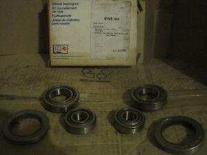 VOLKSWAGEN TRANSPORTER (FRONT DRUM BRAKES) 63-68 FRONT WHEEL BEARING KIT x2