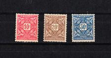 lot 3  timbres  poste taxe  avant indépendance  Dahomey  neuf  **