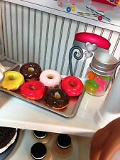 American Girl Our Generation 18 Inch Doll Set of 5 Faux Glazed Donuts