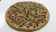 "14"" Plastic Pizza Fake Food for Restaurant Display. Faux Foods Replica Pizza New"