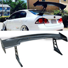 """For Jdm 61"""" Gt Carbon Fiber Down Force Ultrawide Tall Stand Trunk Spoiler Wing(Fits: Nissan 200Sx)"""