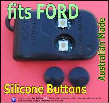 fits FORD Falcon EB ED Remote -2 Replacement Silicone key Buttons