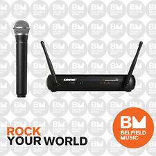 Shure SVX Wireless Microphone System PG58 Mic Vocal Handheld SVX24PG58 558-570MH