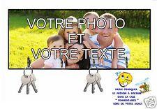 accroche clés mural en bois réf 00 personnalisable avec votre photo et texte