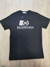 Balenciaga Herren T-Shirt blau XL