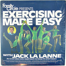 JACK LA LANNE Exercising Made Easy LP NM- NM-