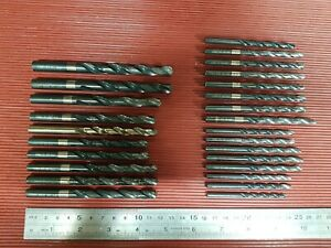 Dormer Drills Job Lot of 26 metric drills