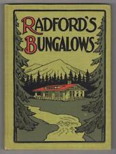 Radford Architectural Co. Radford's Artistic Bungalows, 208 designs. IL, 1908.