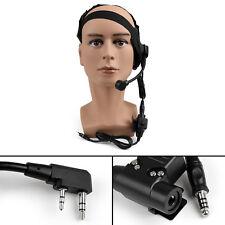 1xHD-02 Z-Tactical Bowman Elite II Headset U94 PTT Fit Kenwood BaoFeng Radio UE