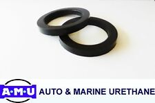 QLD MADE POLYURETHANE COIL SPACERS Fits Toyota Landcruiser 79 Series x 15mm