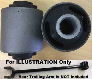 2pcSet Bushings fit Rear Trailing Arm Toyota Camry Solara Avalon 1992 - 2012