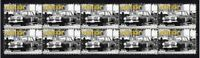 FORD CORTINA STRIP OF 10 MINT VIGNETTE STAMPS 4