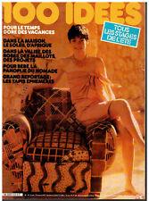 ▬► 100 IDÉES A FAIRE VOUS MÊME  N° 92 (1981) _COUTURE_TRICOT_OUVRAGES_DÉCO