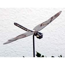 Gartenstecke/Blumenstecker Libelle aus Edelstahl am Stab ca.75 cm Gebr. Lomprich