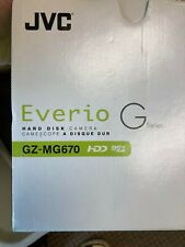 JVC EVERIO GZ-MG670 30GB HDD Camcorder Remote Battery