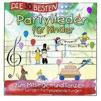 DIE 30 BESTEN PARTYLIEDER FÜR KINDER  CD NEU