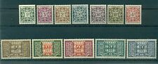 Monaco 1946/57 - Y & T  n. 29/39  Timbres-taxe