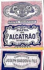 ANGOULEME PAPIER CIGARETTES PAPER ALCATRAO ETS JOSEPH BARDOU
