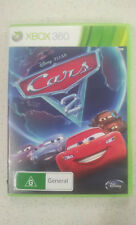 Disney Pixar Cars 2 Xbox 360 Game USED PAL Region