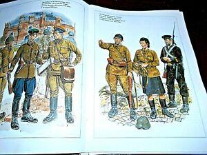 #07  DEL PRADO MEN AT WAR MAGAZINE WW2 1941 THE RUSSIAN ARMY HISTORY,UNIT RANKS