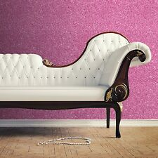 TEXTURED SPARKLE WALLPAPER - PINK - MURIVA COUTURE 701356 GLITTER