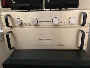Conrad-Johnson PV-11L Pre-Amplifier & MF80 Amplifier (local pickup only)