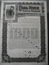 Coal River Railway Company  1905   1000$