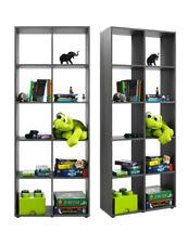 Bücherregal Raumteiler Mehrzweckregal Regal Büroregal R566_4 Silbereiche