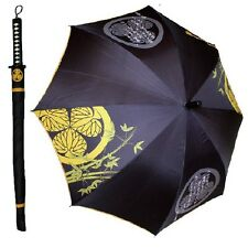 Samurai Sword Umbrella TOKUGAWA IEYASU Japanese Katana Nihonto CosStyle DHL