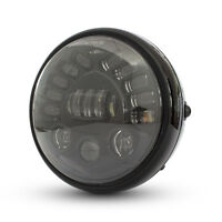 """Motorbike Projector LED Headlight 7.7"""" with Indicators for Retro Project Bike"""