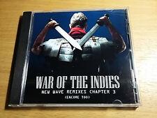 WAR OF THE INDIES - NEW WAVE REMIXES CD. Seona Dancing Flesh For Lulu New Order
