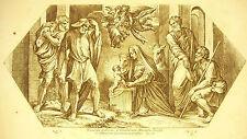 La naissance de Jesus Marie Nativite Nativity La Bible Nic Chaperon 1649 Raphaël
