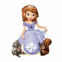 "Disney Sofia the First  Airwalker 48"" Jumbo Foil Balloon Birthday Party Supplies"