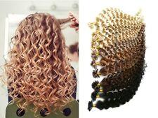 Duración festoneado atraído esclava vinculada Extension pelo prórroga Remy cabello humano 60cm 1g