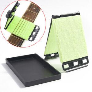 Guitar String Cleaner Set di pennelli per pulizia rapida per strumenti a corda