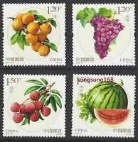 CHINA 2016-18 水果 Stamp Fruits II