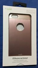 Brand New Moshi iGlaze Armour Case for iPhone 6 Plus/6s Plus - Rose Gold