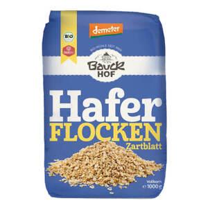 Bauckhof - Haferflocken Zartblatt Demeter - 425 g - 8er Pack