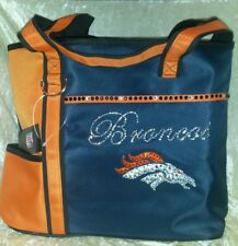 Denver Broncos NFL Rhinestone Bling NFL Purse Bag ~NEW~