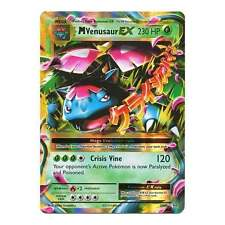 Pokemon XY Evolutions Mega-Venusaur-EX 2/108  Holo Rare ex Card