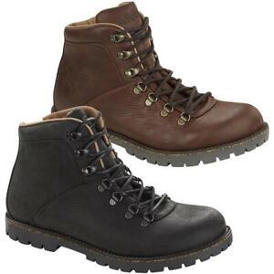 Birkenstock Jackson Nubuck Leather Black Brown Mens Ladies Unisex Boots Shoes