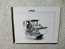 1926 Cat Caterpillar Tractor Photo 5x4