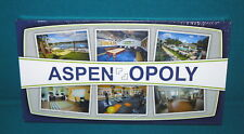 Sealed! ASPEN-OPOLY : Custom Made MONOPOLY type GAME for ASPEN SQUARE MANAGEMENT