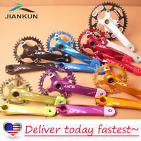 US All Teeth 30-52T Crankset Crank BCD104mm Single Speed MTB Bike Chainring