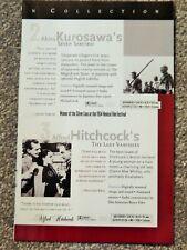 7 Samurai / Lady Vanishes / Amarcord / 400 Blows 1990S Vtg Laserdisc Ad
