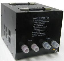 NEW 7500 Watt Transformer Converter 220 Volt 110 Converter 240V 110V