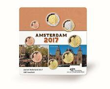 NEDERLAND UNC SET EUROMUNTEN KONING WILLEM-ALEXANDER 2017 IN LUXE VERPAKKING
