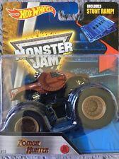 Bnib Monster Jam Hot Wheels Zombie Hunter Truck 1:64 size Diecast Nib #13